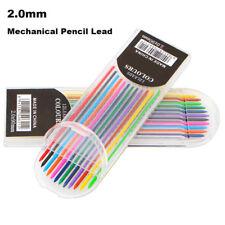 12Pcs/box 2B 2mm12-color Mechanical Pencil Lead Art Sketch Drawing Color Lead