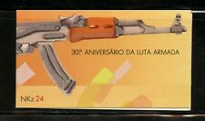R814  Angola  1991  War of Independence COMPLETE BOOKLET    MNH