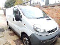2003 Vauxhall Vivaro 1.9 CDTI 2700 Van (SWB) SOLD AS SPARES OR REPAIR