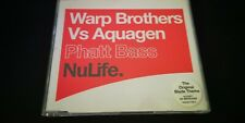 Warp Brothers Vs Aquagen – Phatt Bass CD Single