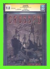 Crossed #3 variant CGC 9.8 Garth Ennis Jacen Burrows
