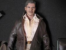 USED Movie Masterpiece DX Raiders / Lost Ark 1/6 scale figure Indiana Jones