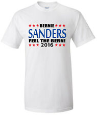 "Bernie Sanders Democrat president 2016 ""Feel The Bern"" T-shirt S-5Xl"
