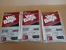 LOT OF 3 PACK Sears Kenmore Canister Type C Vacuum Bags For 5055
