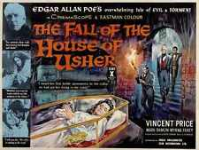 House Of Usher Poster 03 A3 Box Canvas Print