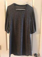 Lululemon Metal Vent Tech Short Sleeve Black White Heathered Shirt Men's -Sz Xl