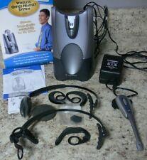Plantronics Cs50 Silver/Black Ear-Hook Wireless Headset Hl10 Handset Lifter