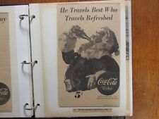 COKE/COCA-COLA  ADS(1945-1959)77-Pages/ads(+6 Pepsi Ads)Album/The Sporting News