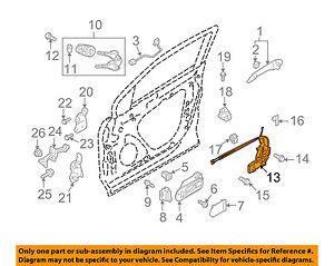 MAZDA OEM 07-10 CX-9 Front Door-Lock Actuator Motor TD1258310F