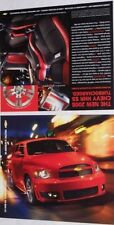Lot of 2 2008 08 Chevrolet HHR SS 1pg brochure s