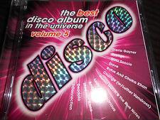 best disco album in the universe Vol 5 CD Voyage Madleen Kane Gloria Gaynor CD