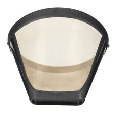 Coffee Filter Permanent Basket Stainless Steel Strainer 10-12 Cup for Cuisinart