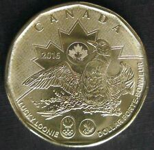 Set of Canada Olympic Lucky Loonies 2014 and 2016