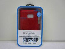 Naztech Wallet Case for iPhone S7 Edge - Red NEW