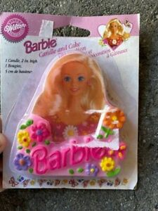 Wilton Barbie birthday candle. 1995. Sealed. Never used.
