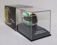 MINICHAMPS VALENTINO ROSSI MODELLINO AGV CASCO HELMET 1/8 MOTO GP MUGELLO 2002