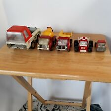 Vintage Junkyard Lot Of Buddy L Marx Pressed Steel Trucks From 60s 70s For Parts