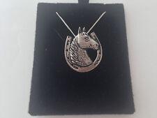 A62 ferro di cavallo su un Argento Sterling 925 collana realizzata a mano 18 inch CATENA