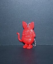 """GREAT LITTLE ED ROTH """"RAT FINK"""" FIGURE KEY CHAIN IN RED!!!"""