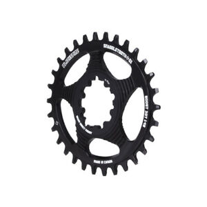 Blackspire Snaggletooth GXP Boost DM Oval NW ring, 30t - black