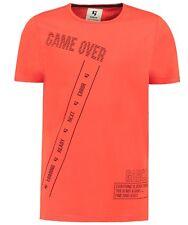 So 19 - Camiseta, Carmesí (Rojo) Regular Ajuste V. García A93404 T.Gr.128-176