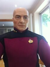 """Franklin Mint Star Trek USS Enterprise Captain Jean Luc Picard 17"""" Figure  Doll"""