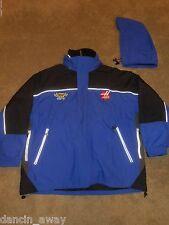 XXLarge Best Buy Haas CNC Racing 2 N 1 Jacket Pit Crew Nascar Fleece Lined
