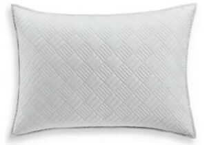 Hotel Collection Layered Frame Quilted Standard Sham New Out Of Package