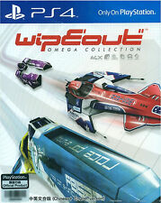 Wipeout: Omega Collection HK Chinese/English subtitle PS4 NEW