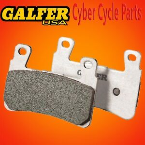 Galfer HH Sintered Rear Brake Pads For 2016-2017 Yamaha YZF-R1S FD363G1371
