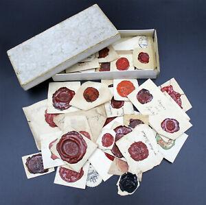 altes Konvolut von Siegeln, interessant ca.50 Stück