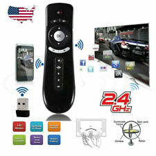 Wireless 2.4G USB Receiver Voice Remote Control for Smart TV Android Box PC USA