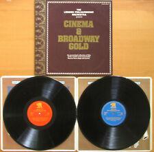 Cinema & Broadway Gold London Philharmonic Orchestra 2xLP Ronco RTD 2036 NM/EX