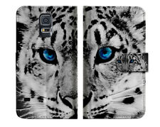 Leopard Wallet Case Cover For Samsung Galaxy S5 - A013