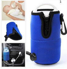 Portable 12V in Car Auto Travel Baby Food Milk Water Bottle Cup Warmer Heater TB