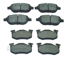 PEUGEOT 206 2.0 GTI 180 2003-2007 MINTEX FRONT AND REAR BRAKE DISC PADS NEW SET