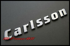 CHROME LETTER CARLSSON REAR BOOT BADGE EMBLEM FOR MERCEDES BENZ W203 W211 W204