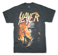Slayer Torch Tour 2015 Black T Shirt New Official Metal Band Music