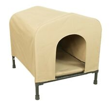 Outdoor Dog Houses for Extra Large Dogs Big Raised Waterproof Indoor Portable