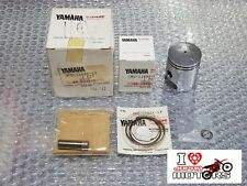 YAMAHA QT50 79-81LC50 NOS NEW GENUINE PISTON KIT 0.25 OVERSIZE 3L5-11630-10