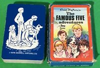 Old 1970s Vintage Pepys ** THE FAMOUS FIVE Adventures ** Playing Cards Card Game