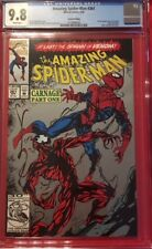 AMAZING SPIDERMAN #361 CGC 9.8 NM/MT Near Mint 1st Appearance CARNAGE 2nd print