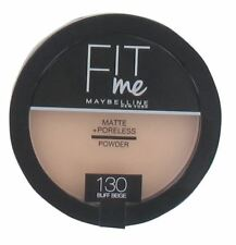 Maybelline Fit Me Matte Poreless Powder Compact 8.5g - Buff Beige #130