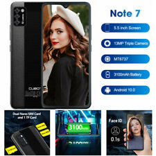 5,5 Zoll 4G Cubot NOTE 7 Handy 2GB+16GB Quad Core Smartphone Android 10 Face ID