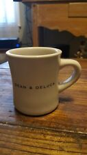 Dean & Deluca Heavy Ceramic Diner-Style Coffee and Tea Mug in Great Condition