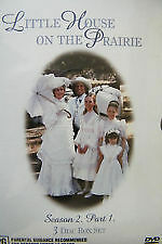 Little House On The Prairie : Season 2 : Part 1 (DVD, 2004, 3-Disc Set)-REGION 4