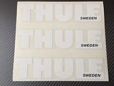 Thule-Aufkleber, weiss, Thule Emblem für die Reparatur oder sonstige...