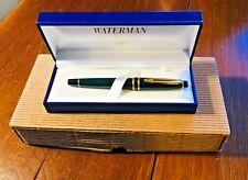 Penna roller  WATERMAN EXPERT , vintage , colore verde.