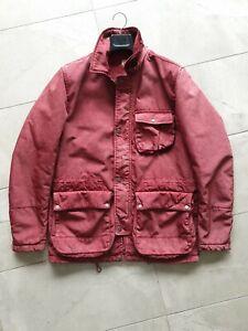 C.P. Company garment dyed red jacket 50 L parka coat