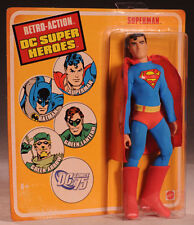 Superman Retro Action DC Super Heroes Action Figure by Mattel NIB 2010